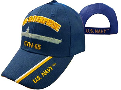 - USS Enterprise CVN-65 Aircraft Carrier Cap