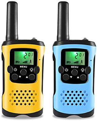 QAQWER Walkie Talkies para Niños, 2 Piezas De Radio Bidireccional ...