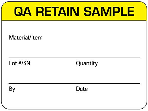 Quality Control Label, 2-3/8'' x 1-3/4''