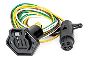 Husky 11555 4-Way Round Wiring Harness
