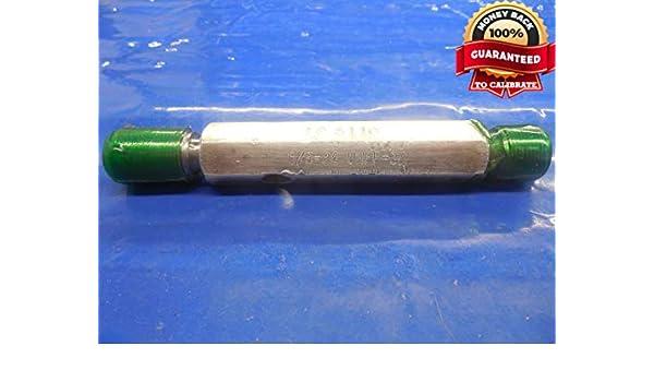 THREAD PLUG GAGE 5//8-24 NEF-3B NOGO PD .6018