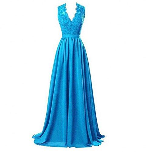 Kleid Beauty Blau KA Mädchen KA Mädchen Kleid Beauty 8BOxPx