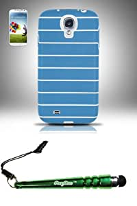 FoxyCase(TM) FREE stylus AND Samsung Galaxy S4 i9500 - STTPU Case Cover Protector Baby Blue Desire Safe Phone cas couverture