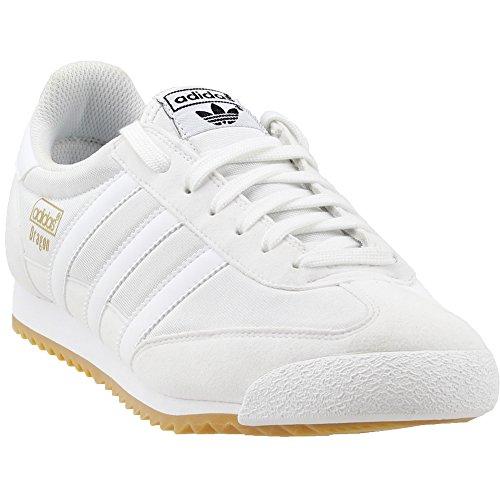 Adidas Herren Dragon Blanc Bas En Haut / Gomme