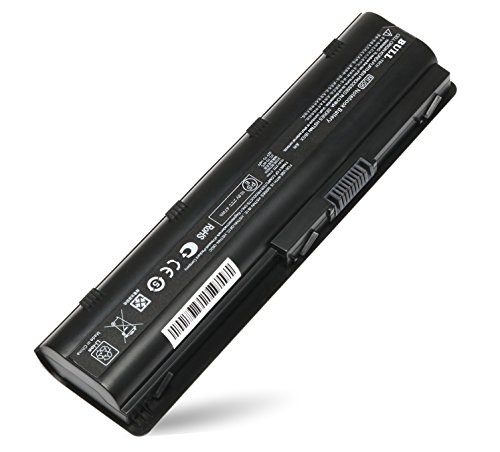 BULL-TECH 6-Cell New Laptop Battery for HP 593553-001 593554-001 mu06 mu09 - Battery Presario CQ32 CQ42 CQ43 CQ56 CQ62 CQ72 COMPAQ 435, 436 Notebook PC (Battery Large Notebook Capacity)