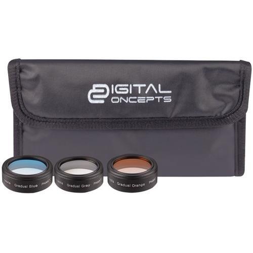Vivitar Digital Concepts Graduated Lens Filter Kit for DJI Phantom 4 Pro Drone
