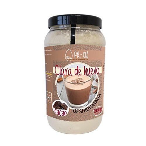 PR-OU Proteina de Clara de Huevo 800 gr - Galleta: Amazon.es: Alimentación y bebidas