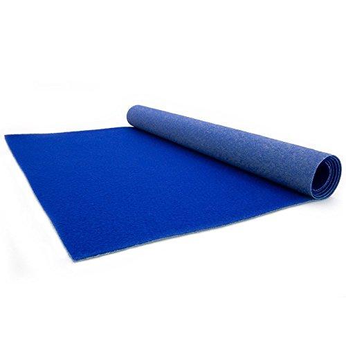 Blue Carpet - Wedding Runner - Ceremony Aisle - VIP Carpet - Event Rug - Blue Colour - 1m x 1m Primaflor - Ideen in Textil