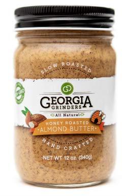 Georgia Grinders Almond Butter Honey Roasted - 2 Jars