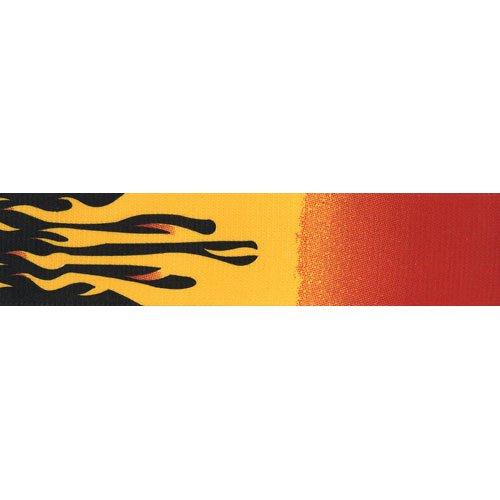 taglia unica 50/mm Bretelle fiamme Brimarc originali