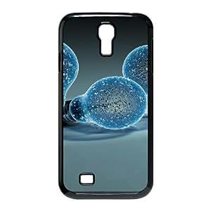 Samsung Galaxy S4 Case, Creative Light Bulbs Case for Galaxy S4 Black Leemarson sf4111258