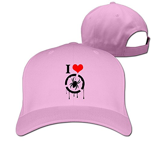 ILQG I Heart Love Cute Spider Style Visor Hats Caps Flat-Along Trucker - Cumming Women Pictures