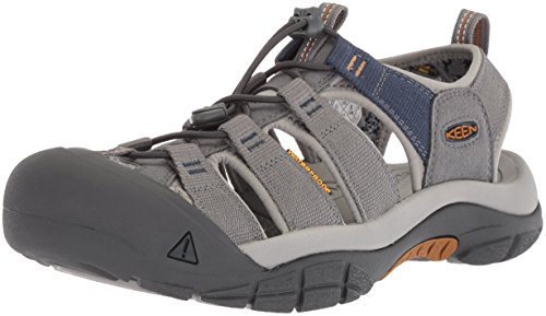 KEEN Men's Newport Hydro-M Sandal, Steel Grey/paloma, 12 M US