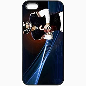Personalized iPhone 5 5S Cell phone Case/Cover Skin 1182 chicago bears Black by lolosakes