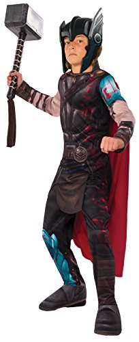 Thor Ragnarok Gladiator Child's Value Costume, Large (Italian Costume For Kids)