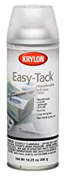 Krylon K07020007 10.25-Ounce Easy Tack Repositionable Adhesive Spray