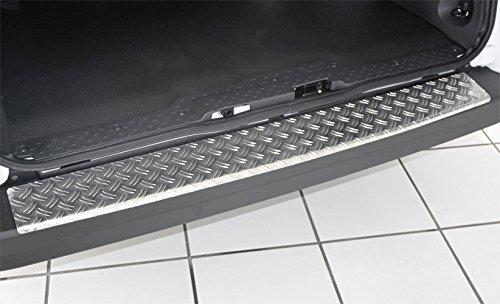 1325-505 WGS Alu Riffel Ladekantenschutz Sto/ßstangenschutz Lackschutz mit ABKANTUNG EXTRA ROBUST