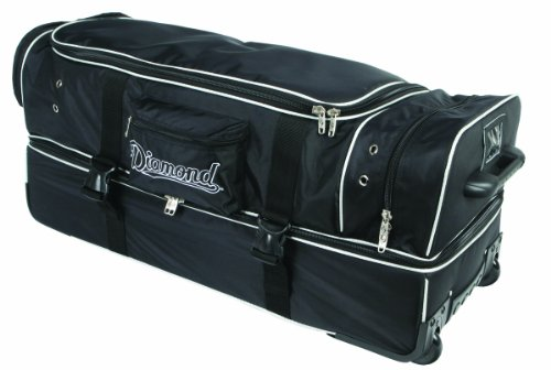 (Diamond Sports Deluxe Wheeled Umpire Bag (33-Inch))