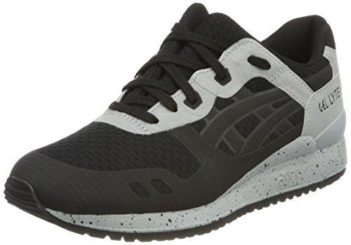 III Asics Black Negro Unisex Lyte NS Black Zapatillas Gel Adulto qqwOr1TFEc