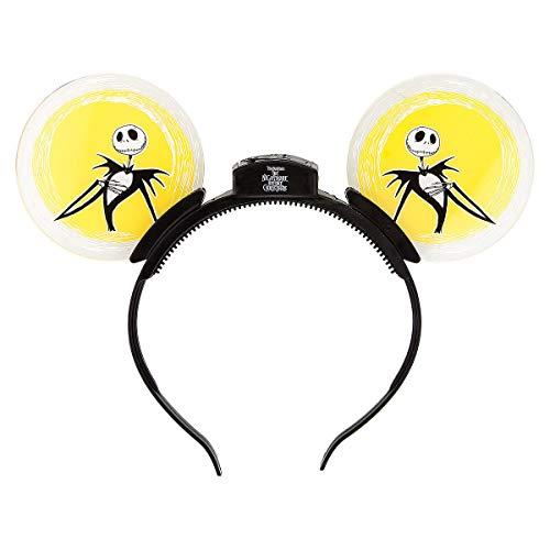 Disney Parks Jack Skellington Glow Ears Light up Headband ()
