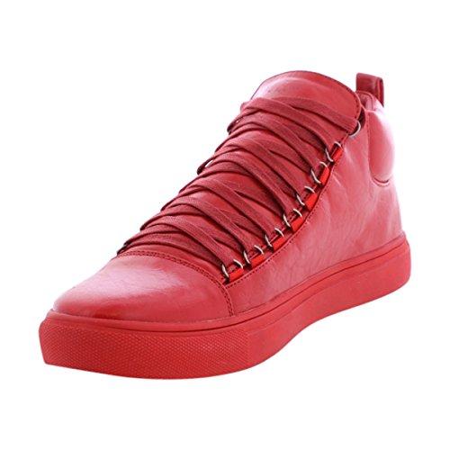 Beverly Hills Polo Club - Sneakers Da Uomo Con Taglio Centrale - Nero Rosso