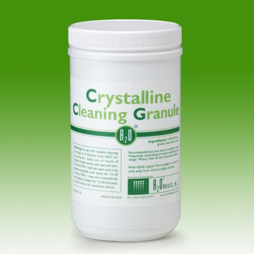 Crystalline Cleaning Granule - 2LBS - For use with reusable cleaning cartridge or E-Cleaner only. by Sanastec