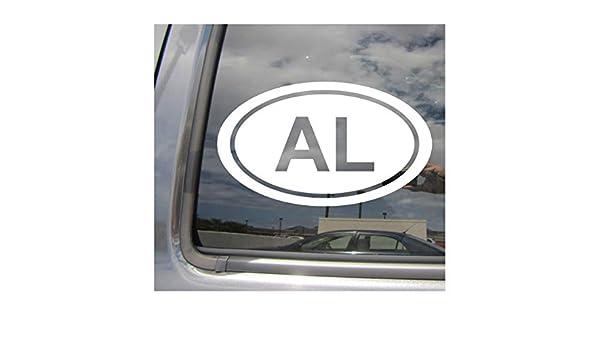 Alabama Home State Outline AL Yellowhammer Car Vinyl Die-Cut Decal Sticker 07031