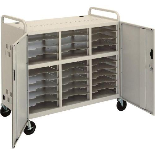 Ct-Ls30 Laptop Storage Cart With (2) (Da Lite Laptop Storage Cart)