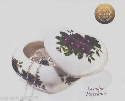 Avon Classic Violet Trinket (Avon Trinket Box)