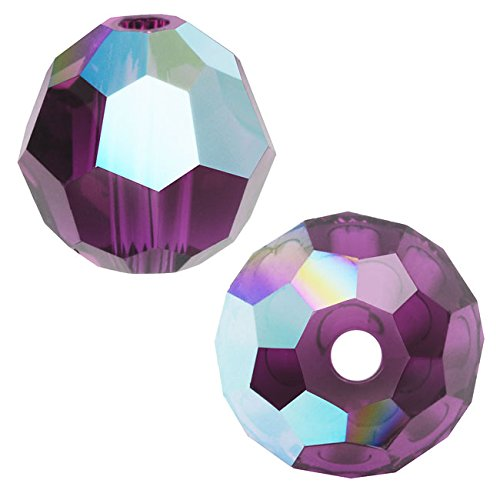 (SWAROVSKI ELEMENTS Crystal #5000 6mm Round Beads