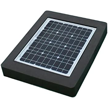 Natural current savior pond solar pump and for Solar fish pond filter