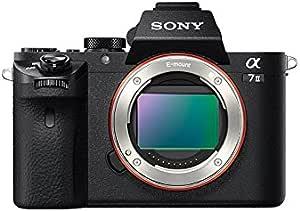 Sony Alpha a7II Full Frame Mirrorless Interchangeable Lens Camera Body SEL 24-240 Full Frame Lens, 64GB Extreme SD UHS-I Memory Card, UV Filter