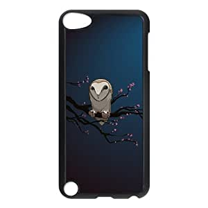 Owl Pattern Hard Case Cover Back Skin Protector For Ipod Touch 5 Case HSL438639