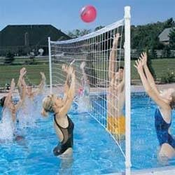 Dunn Rite H2O Hoops Poolside Basketball and Volleyball Game Set by Dunn Rite (Image #1)