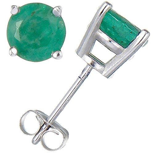 14k White Emerald - 2