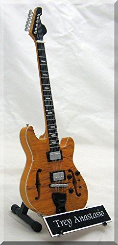 TREY ANASTASIO - Guitarra en miniatura con etiqueta: Amazon.es: Instrumentos musicales