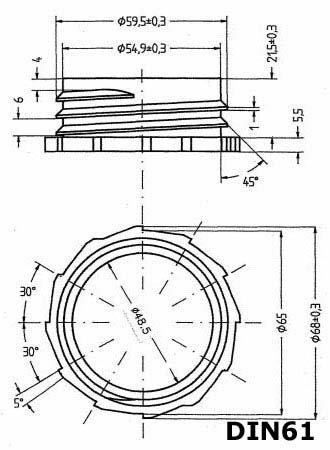 22248x3+22037 Wilai GmbH Lote de 3 bidones de Polietileno//Jerrycan 25 L Azul HDPE DIN61 Calidad alimentaria 1 Pico vertedor Flexible Largo