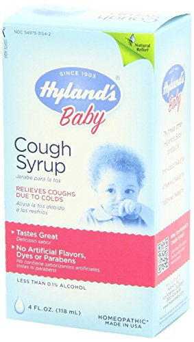 Hyland S Baby Cough Syrup Natural Relief Of Coughs Due To