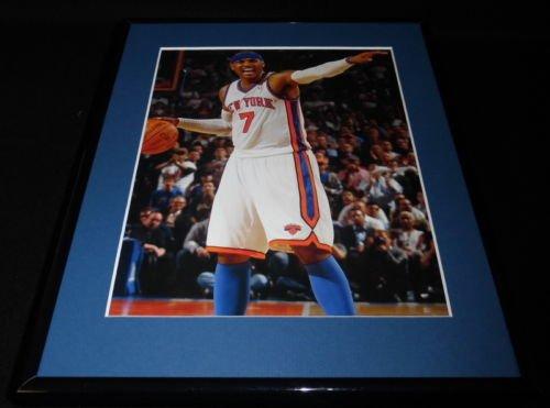Carmelo Anthony Framed 11x14 Photo Display NY Knicks