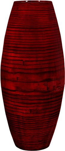 Red Tall Vases - 4
