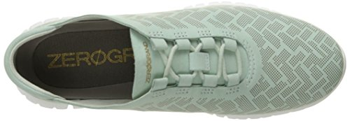 Women's Genevieve Optic Haan Zerogrand Trainer Spray Surf Nubuck White Perforated Cole Perf xwU5vqU1