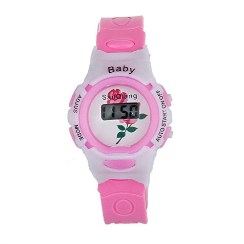 SMTSMT-Students Electronic Digital Wrist Sport Watch - Purple