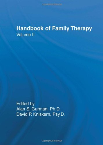 Handbook of Family Therapy, Volume 2