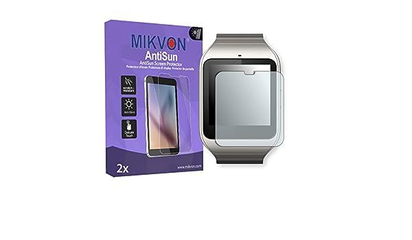 Mikvon 2X AntiSun Película protección de Pantalla Sony ...