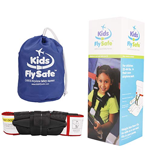 Kids Fly Safe Airplane Seat Harness for Children ~ The Only FAA-Approved Harness-Type Child Safety Restraint