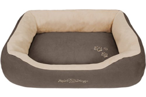 Red Dingo Dark Brown/Light Brown Pet Bed, Donut, Small, My Pet Supplies