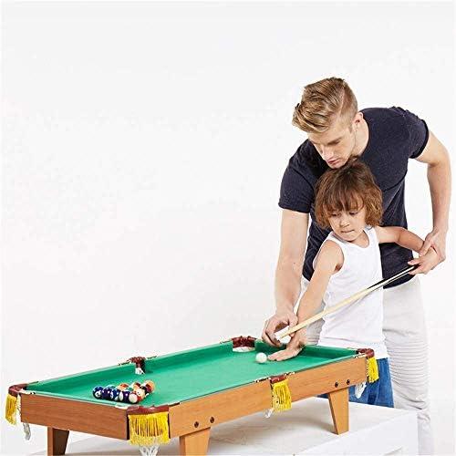 WCJ Juego de los niños Mesa de Billar Conjunto Mini Mesa de Billar de Billar, Billar Inicio Conjuntos de Juegos Mesa de Billar, for Interiores y Exteriores Adultos Juegos for niños Juguetes: