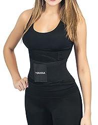 YIANNA Women's Waist Trainer Tummy Belt-Body Shaper Belt for Hourglass Shaper Weight Loss, YA8002-Green-L