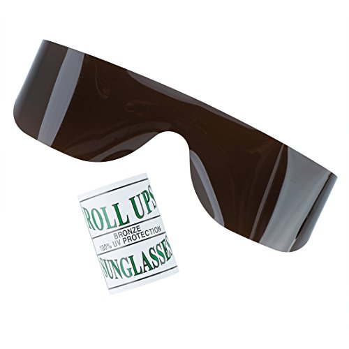 Bronze Roll-up Glasses - Eyecare Supplies - 25 per ()