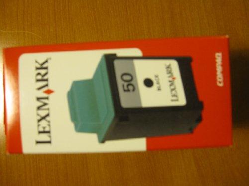 Black Inkjet 17g0050 - Lexmark 17G0050 Black Inkjet Cartridge (#50)
